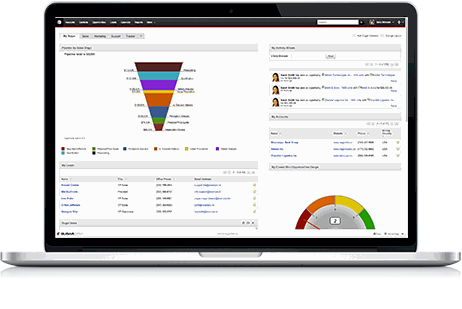 SugarCRM screenshot